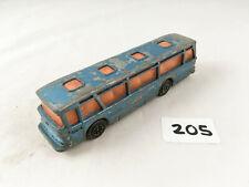 VINTAGE DINKY TOYS # 296 DUPLE VICEROY 37 LUXURY COACH (BLUE) DIECAST BUS BLUE