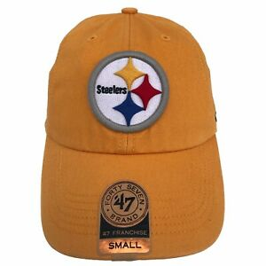 Pittsburgh Steelers NFL '47 Franchise Gold 1st Release S Fitted Cap Hat $30