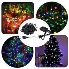 10M RGB Fairy String Lights Wedding Xmas Party Outdoor Decor Lamp EU 220V 100LED