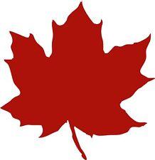 Maple Leaf 1 Vinyl decal 4 inch