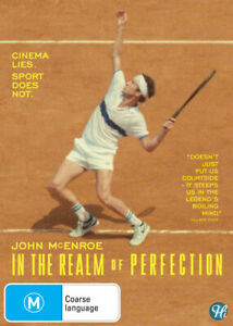 John McEnroe: In the Realm of Perfection - DVD (NEW & SEALED)