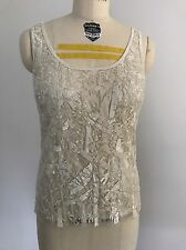 Ralph Lauren Collection Women's Beaded Evening Top - Spring 2012 - Show Size