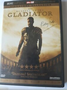 Russel Crowe Gladiator Signature Selection DVD Movie Widescreen 2000