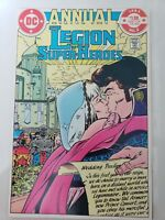 THE LEGION OF SUPER-HEROES ANNUAL #2 (1983) DC COMICS GIANT-SIZE SPECIAL! GIFFEN
