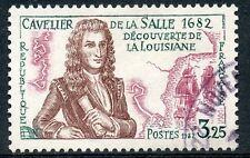 STAMP / TIMBRE FRANCE OBLITERE N° 2250  CAVELIER DE LA SALLE