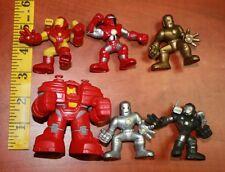 MARVEL SUPER HERO SQUAD Iron Man hulkbuster iron monger silver, iron monger gold