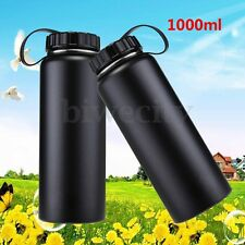 1L/1000ML Insulated Vacuum Wide Mouth Drink Water Bottle Outdoor Travel Camp