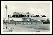 4987 - TIMMINS Ontario Postcard 1930s Mill at Dome Gold Mines by PECO