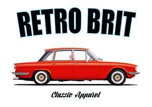 TRIUMPH 2000 SALOON t-shirt. RETRO. CLASSIC CAR. MODIFIED. OLD SKOOL. BRITISH.