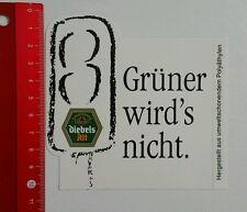 Aufkleber/Sticker: Diebels Alt - Grüner wird's nicht (250516190)