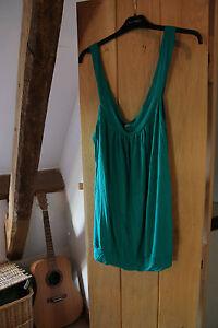La Vie Ladies Green Top / T Shirt / Vest size 14 / 16 Very Soft