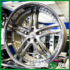 "20""  XIX wheel X15  5-114 SILVER Machine Ch lip fit CADILLAC CTS ATS"