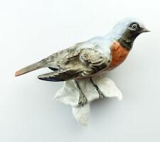 #e4700 unterweissbacher Porcelain holding CUSHION BIRD