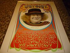 Wavy Gravy 1986 Signed Vintage Poster Very Good Condition!