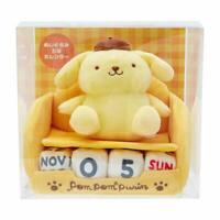 Sanrio Pom Pom Purin Plush Perpetual Calendar 479501 Hello Kitty Japan NEW