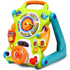 3 in1 Sit to Stand Learning Walker Kids Activity Center Toddlers Musical Fun Toy