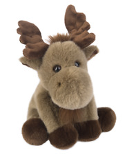 "L@@K Ganz Heritage Moose 12"" H13925 Stuffed Animal Plush Toy Ships Global NEW"