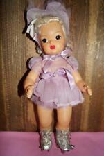 "Vintage 16"" Platinum-blonde Terri Lee in RRE Lavender Roller Skating Costume"