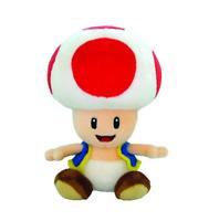 "Super Mario Toad Plush Stuffed Animal toy 6"""