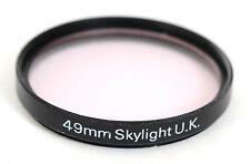 Skylight  FILTER 49mm (4108BL)