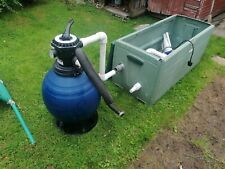 More details for above ground pool pump and sand filter