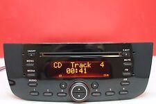 FIAT PUNTO EVO ABARTH DOBLO RADIO CD MP3 PLAYER CAR STEREO CODE WITH WARRANTY