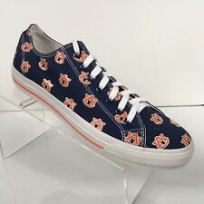 49d392959457 Row One Auburn Tigers War Eagle Sneakers Mens 9 Womens 10.5