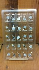 25X AC ON-OFF-ON SPDT 3 Position Micro Mini Miniature Toggle Switch Lot USA Alco