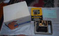 Vintage Kodak Kodamatic Pleaser II Instant Camera, New in original box W/ Manual