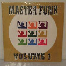 "Various–Master Funk Volume 1 (Vinyl 12"" Maxi 33 Tours Unofficial Release)"
