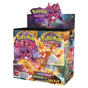 Pokemon TCG Sword And Shield Darkness Ablaze Booster Box! Brand New! In Stock!