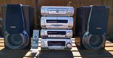 Technics DV170 HiFi System Stack Separates Home Stereo CD DVD Cassette Remote