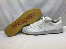 NEW DS ADIDAS 019895 SUPERSTAR II CHRISTMAS EDITION NAUGHTY & NICE Sz 11.5 RARE