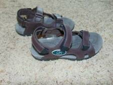 Mens NCAA Brown & Green MSU Michigan State Rugged Outback Sandals-size 8