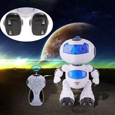 Rc Robot Toy Remote Control Musical Electronic Walk Dance Lightenning Robot Kit