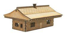 N-ST003 Mid Sized Island Station Building N Gauge Laser Cut Kit