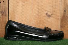 COLE HAAN Black Patent Leather Bit Loafers Women's Sz. 9B