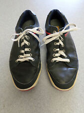 """Footjoy """"Contour Casual"""" navy blue leather, spikeless golf shoes, Men's 9 M"""