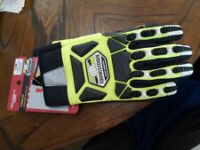 Youngstown Gloves Safety Lime Hybird w/Kevlar size Xl