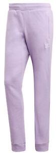 Adidas Men's Loungewear Trefoil Essentials Pants, Purple Glow
