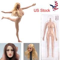 """US TBLeague Phicen 1/6 Female Doll 12"""" action Figure Body/KIMI Head Sculpt Part"""