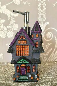 TK Maxx HomeSense Halloween Haunted House Spooky Soap Dispenser Gothic Bathroom