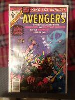 avengers king size annual 7 major key book thanos saga starlin bronze age