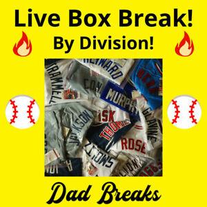 AL EAST (5 MLB TEAMS) signed/autographed baseball jersey LIVE BOX BREAK~TONIGHT~