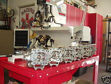 TRX450R Head Service Valve Seats Machine Cut Soda Blast Inspect Assemble Test