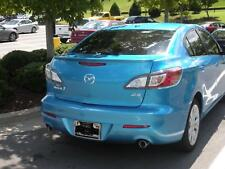 2010 2011 2012 Mazda 3 Factory Style Spoiler - Lip Style