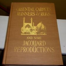 Oriental Carpets Runners & Rugs & Some Jacquard 1910 Illustrated Color Plates DJ