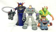 Toy Story Pixar Disney Lot 4 Figures Loose Zurg Buzz Lightyear Twitch Robot '06