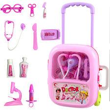 Kids Doctor Playset Girls Nurse Kit Pretend Play Toys Toddler Play Set Gifts