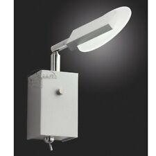 LED Lámpara Pared con Conector Expositor de Luz para Leer Aplique Aluminio